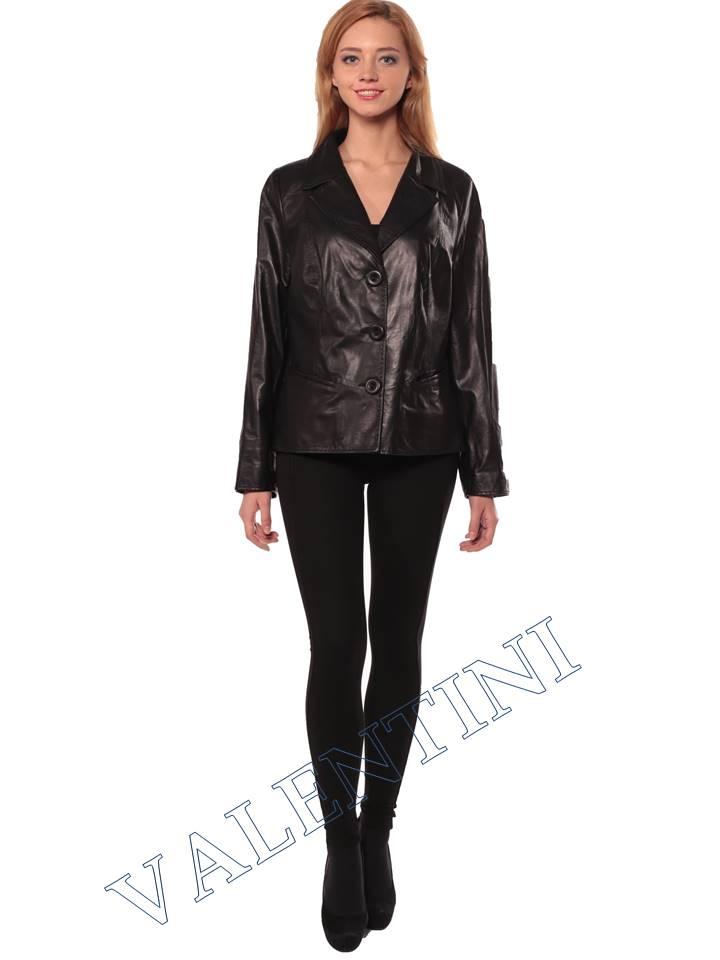 Женский кожаный пиджак STELLA DORO 14090 - 1