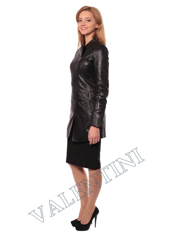 Женская кожаная куртка VALENTINI 2287 - 5
