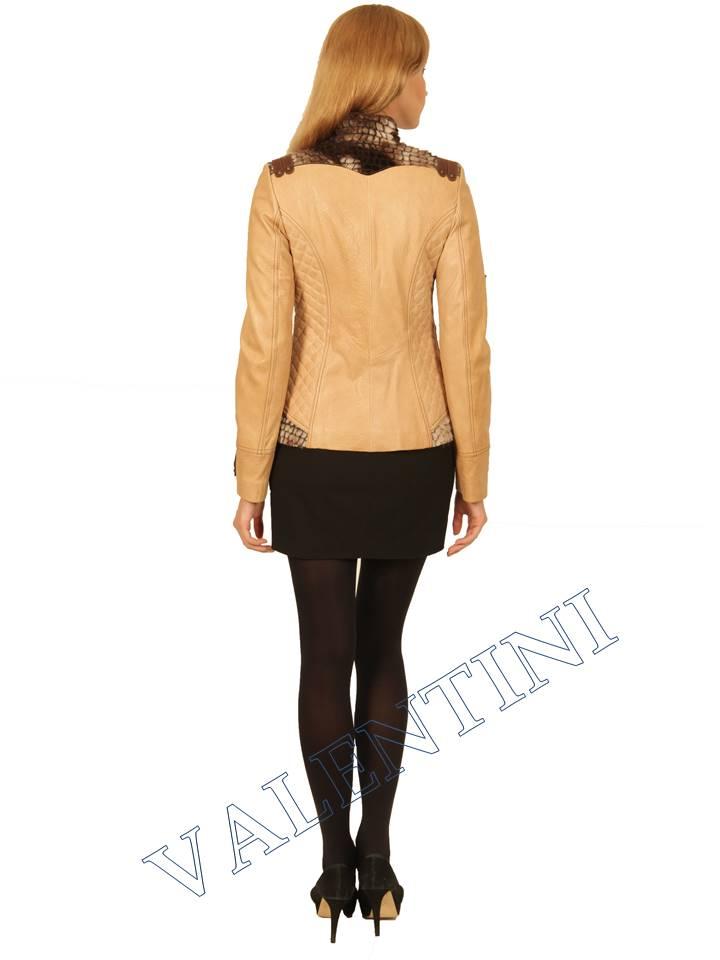 Куртка кожаная VALENTINI 2078 - 3