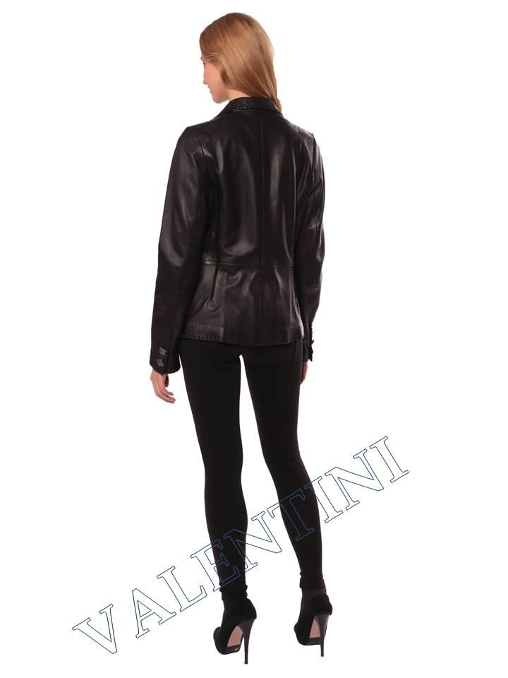 Женская кожаная куртка SUED MOD faustina - 7