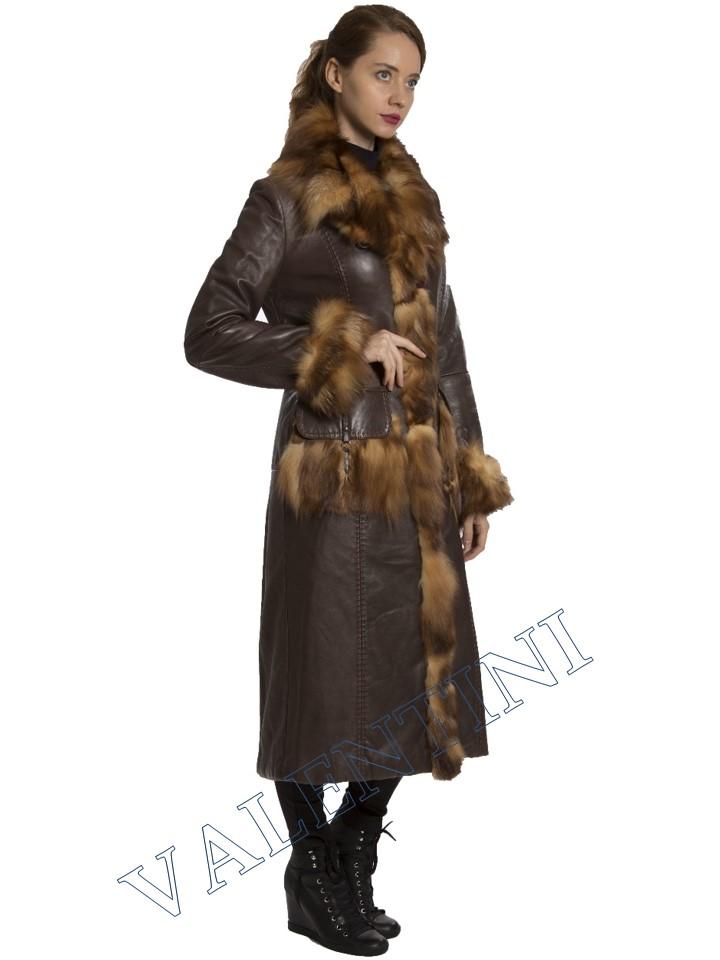 Кожаное пальто SUED MOD 1985-TT - 4