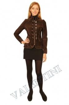 Куртка кожаная SUED MOD FLORELLA – 1