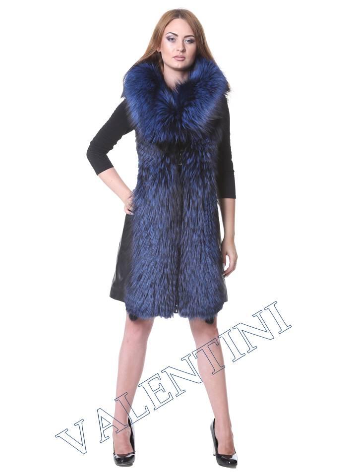 Кожаная куртка VALENTINI мод.2240 - 7