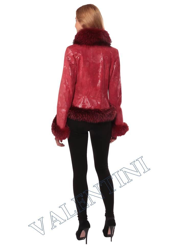 Женская кожаная куртка STELLA DORO 5354 - 6