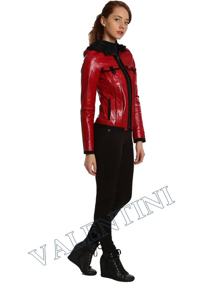 Кожаная куртка VALENTINI 2253 - 4