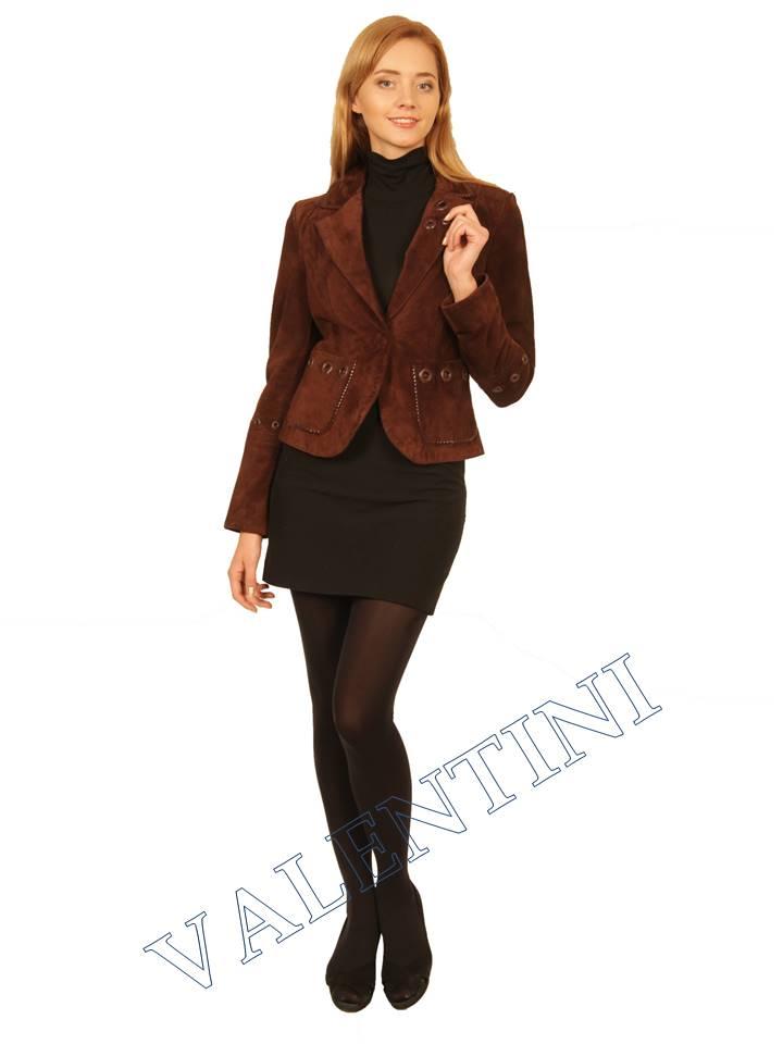 Куртка кожаная STELLA DORO 5433