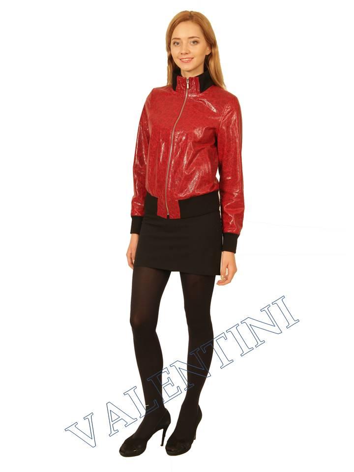 Куртка кожаная VALENTINI 2232k - 1