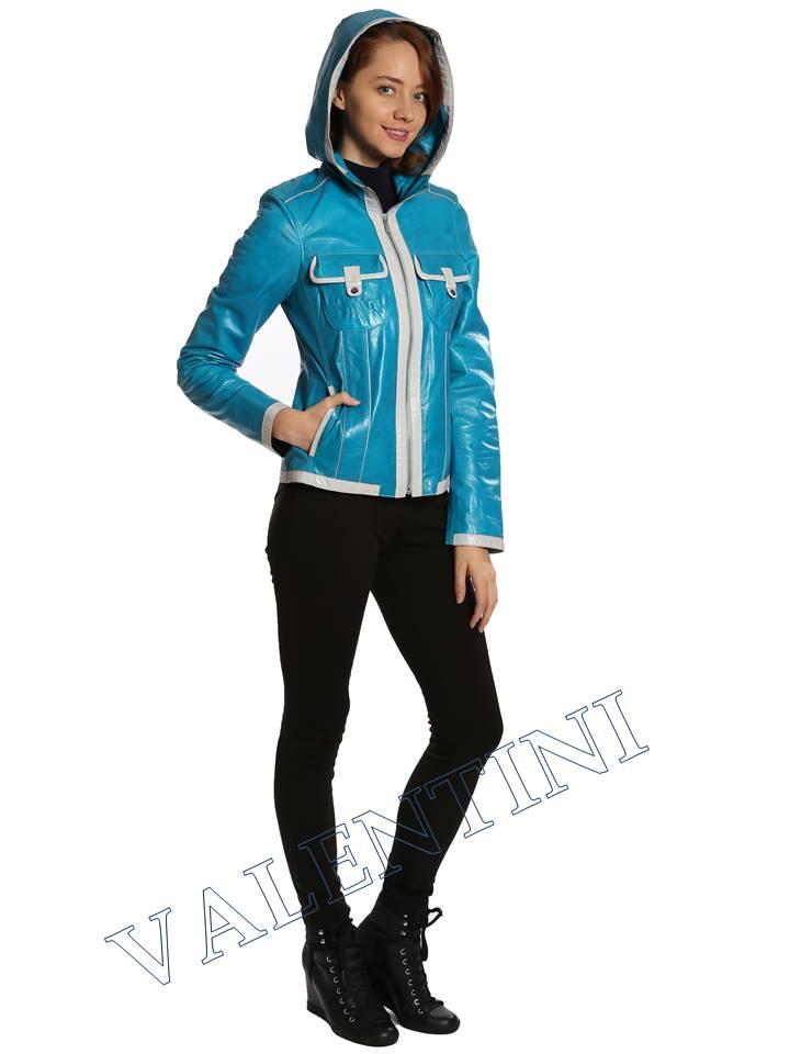 Кожаная куртка VALENTINI 2253-1 - 7