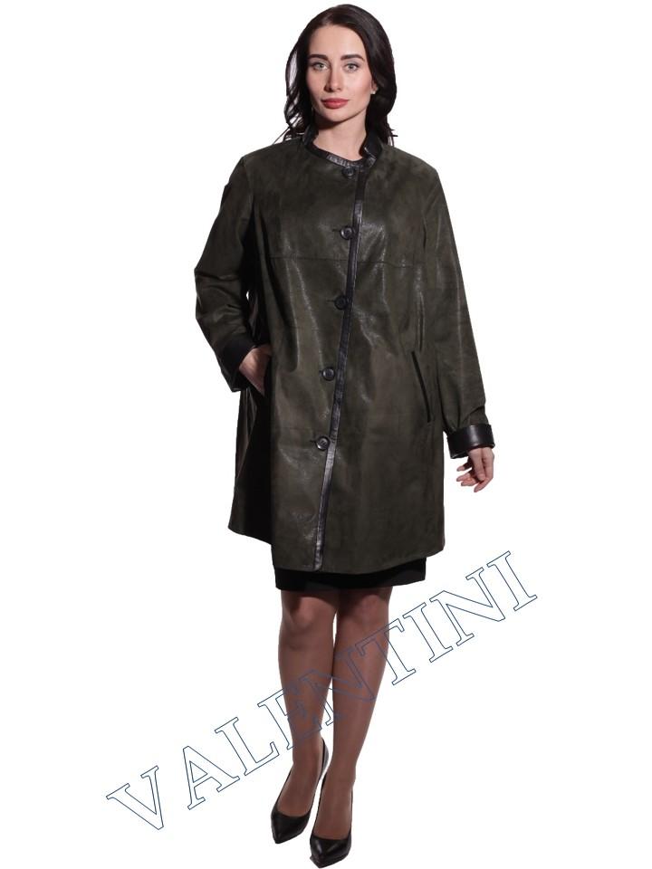 Куртка кожаная VALENTINI 016-106