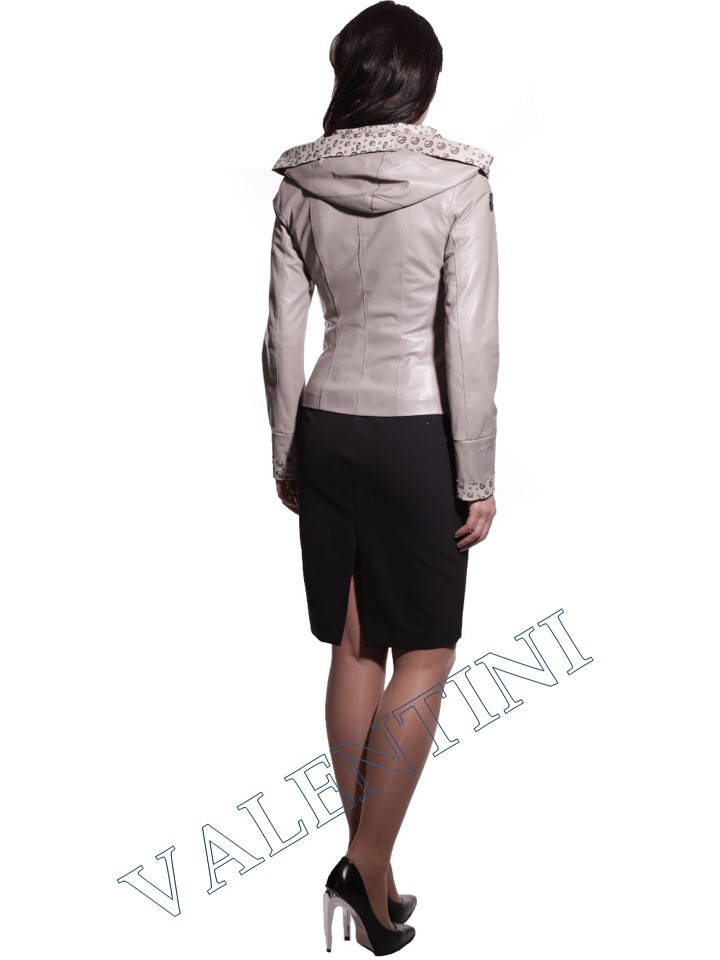 Куртка кожаная VALENTINI 016-105-1 - 3