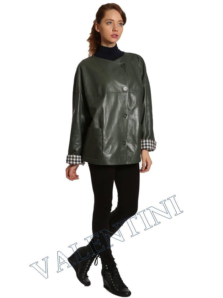 Кожаная куртка VALENTINI 017-116 - 4