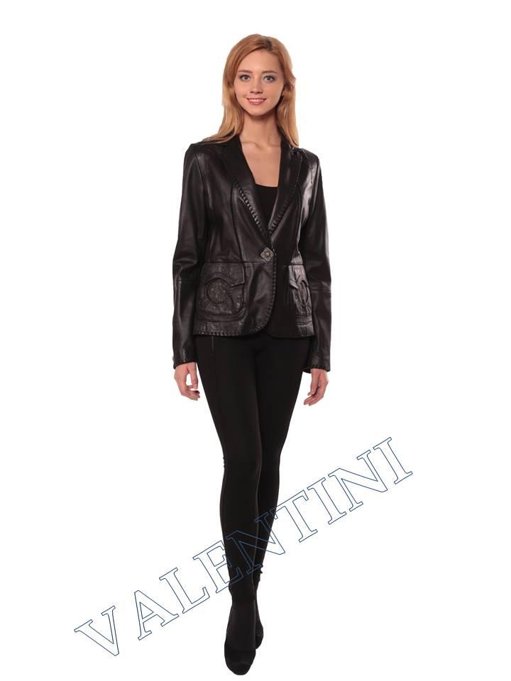 Женская кожаная куртка SUED MOD faustina - 5