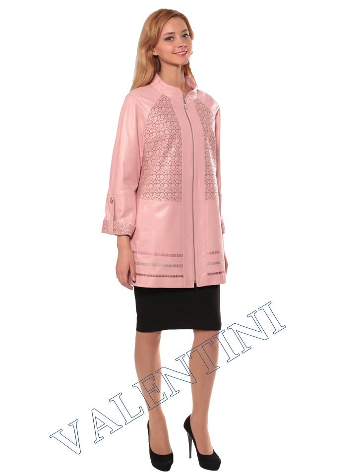 Женская кожаная куртка PANTERREZ 3124
