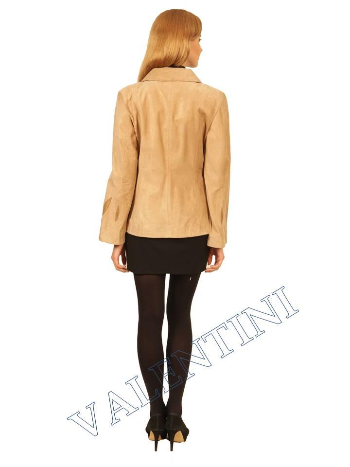куртка кожаная STELLA DORO 2502  - 4