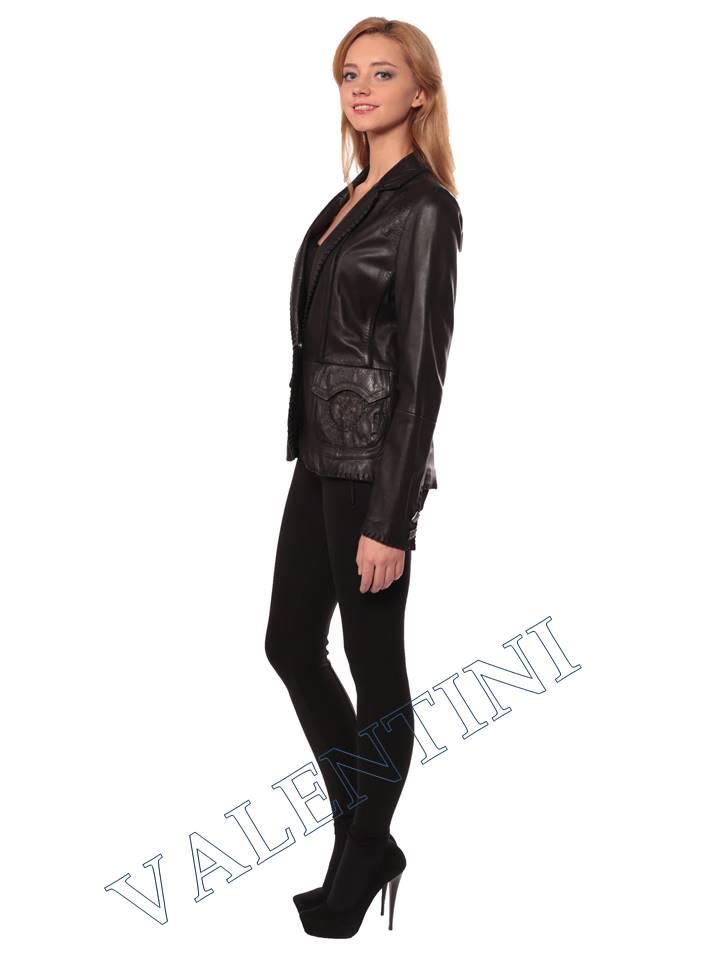 Женская кожаная куртка SUED MOD faustina - 6