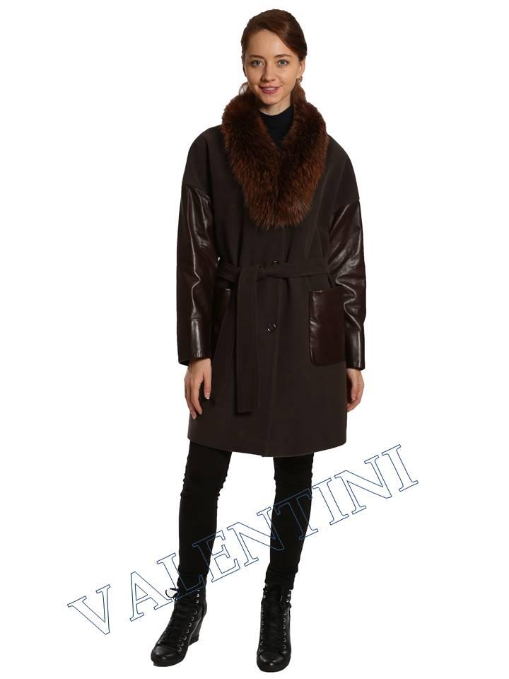 Кожаная куртка VALENTINI 017-124 - 2