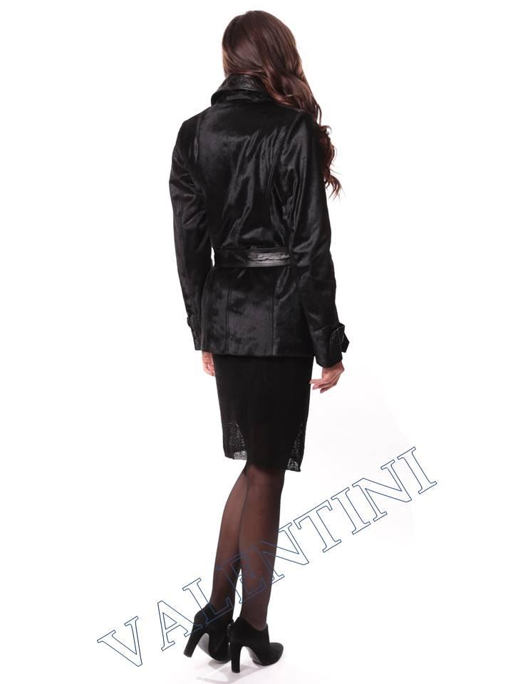 Кожаная куртка из теленка VALENTINI L-30-75 - 7