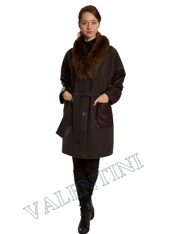 Кожаная куртка VALENTINI 017-124 - 1