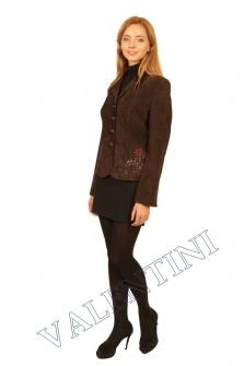 Пиджак кожаный STELLA DORO 5820 – 1