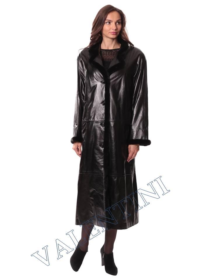 Кожаное пальто GALOPPI 5054 - 4