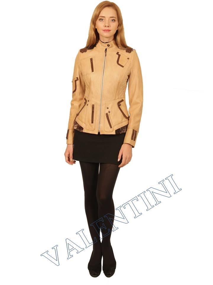Куртка кожаная VALENTINI 2078 - 5
