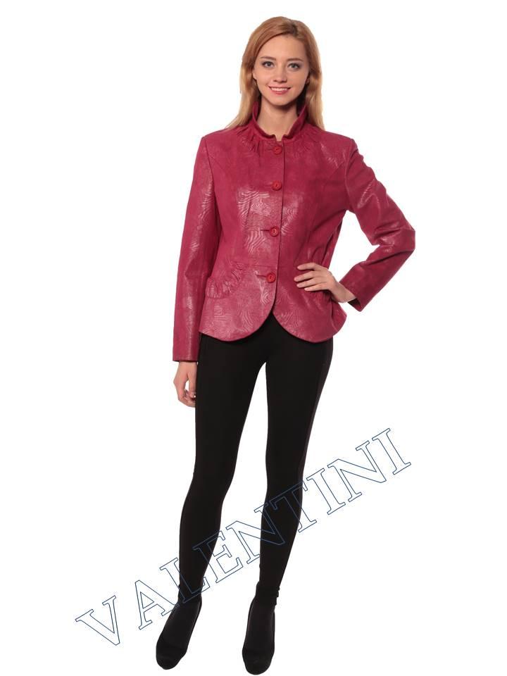 Женская кожаная куртка STELLA DORO 14093 - 4