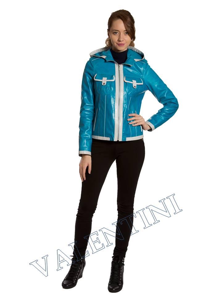 Кожаная куртка VALENTINI 2253-1 - 3
