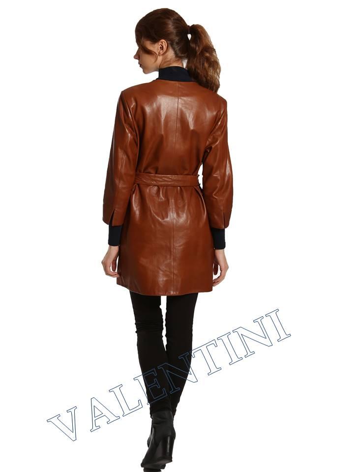 Кожаная куртка VALENTINI 017-117-1 - 6