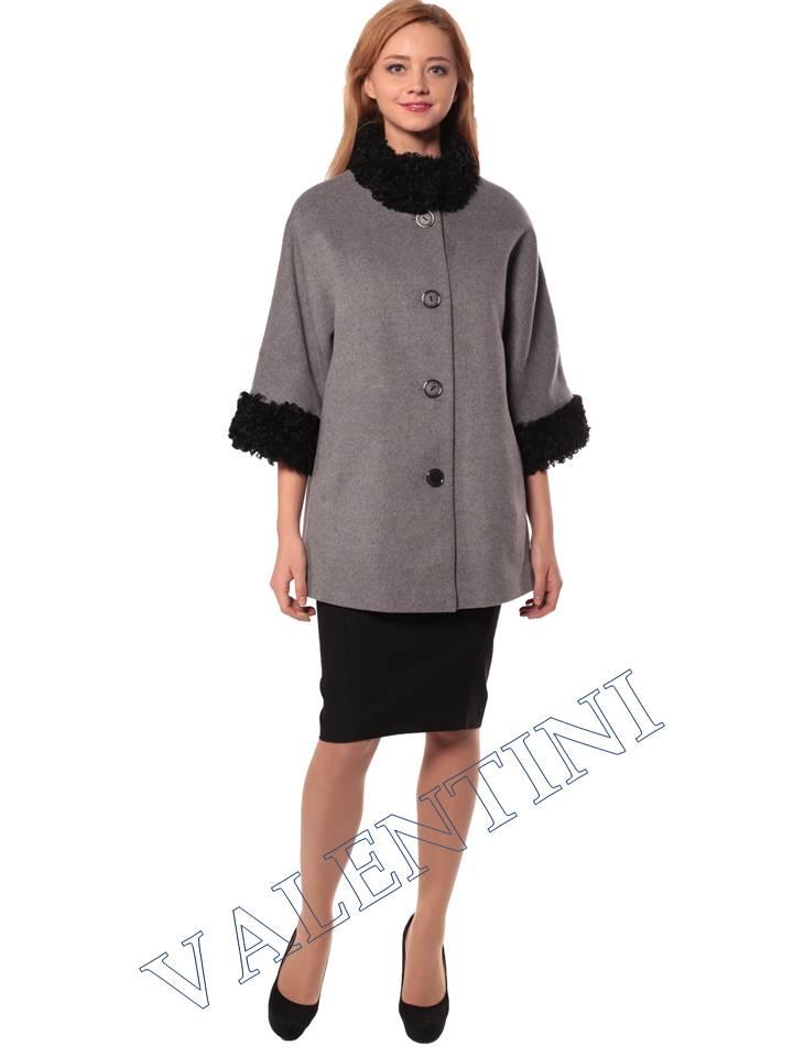 Женская кожаная куртка VALENTINI 3955