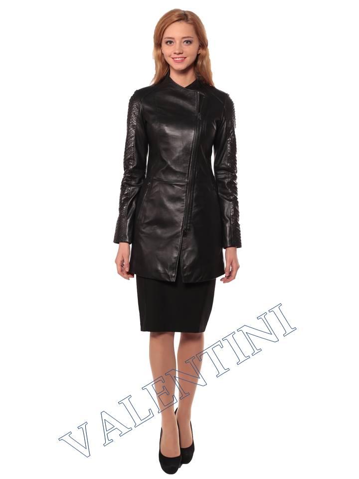 Женская кожаная куртка VALENTINI 2287 - 1