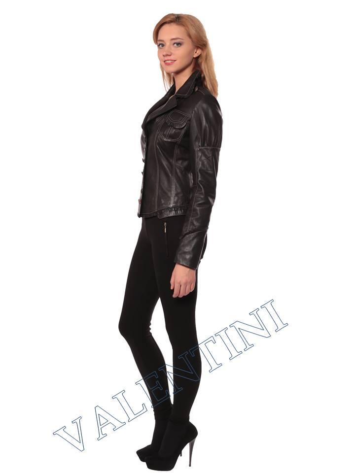 Женская кожаная куртка SUED MOD fimia - 5
