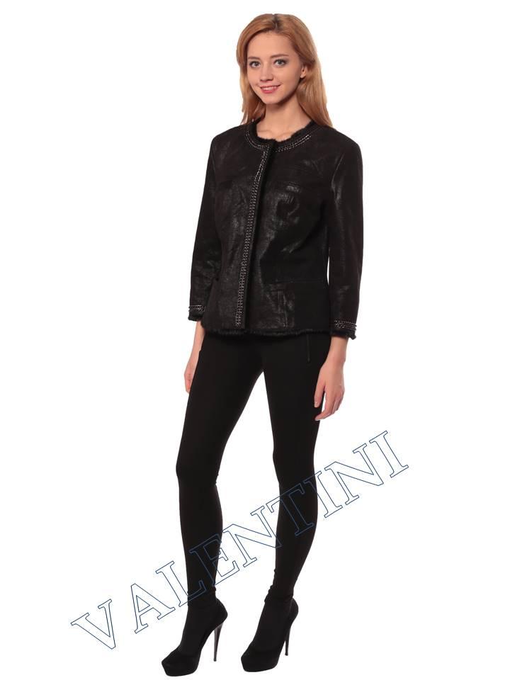 Женская кожаная куртка STELLA DORO 14255 - 3