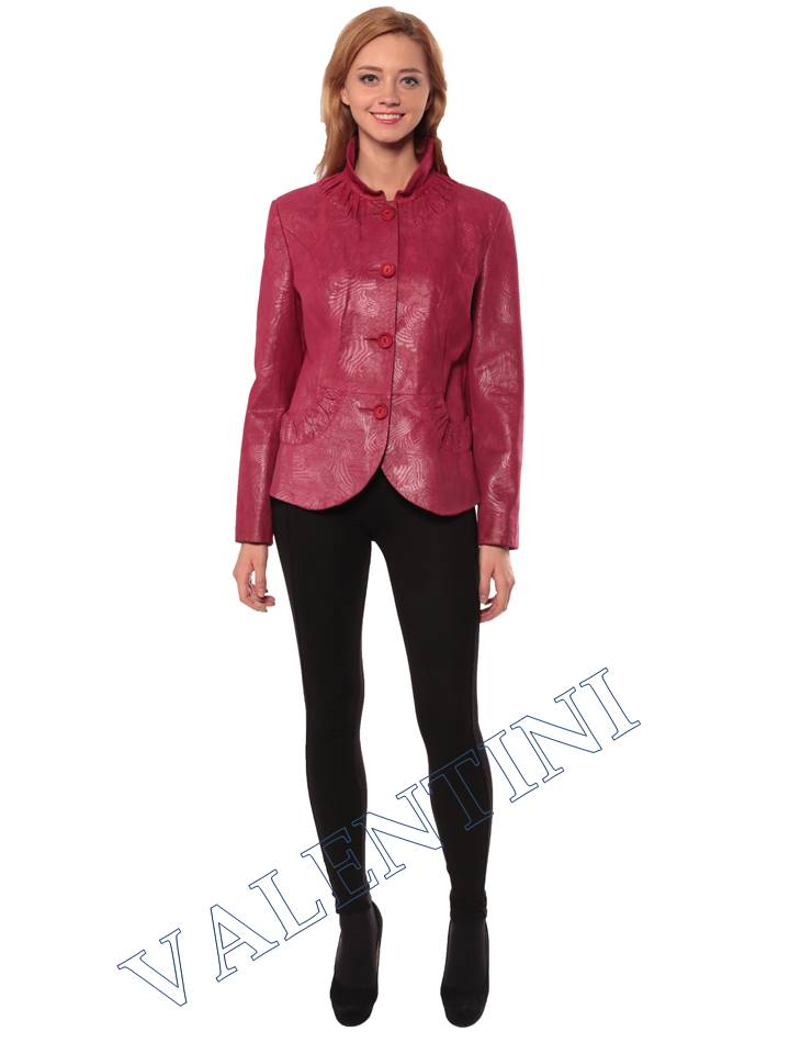 Женская кожаная куртка STELLA DORO 14093 - 1