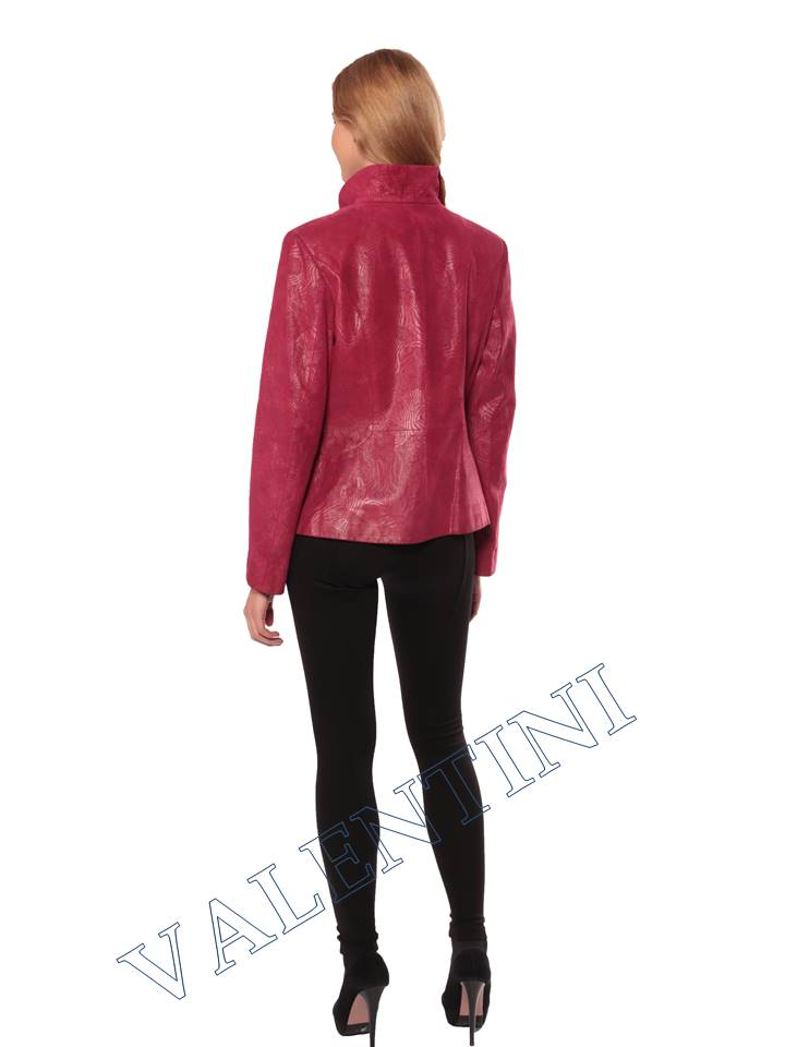 Женская кожаная куртка STELLA DORO 14093 - 6
