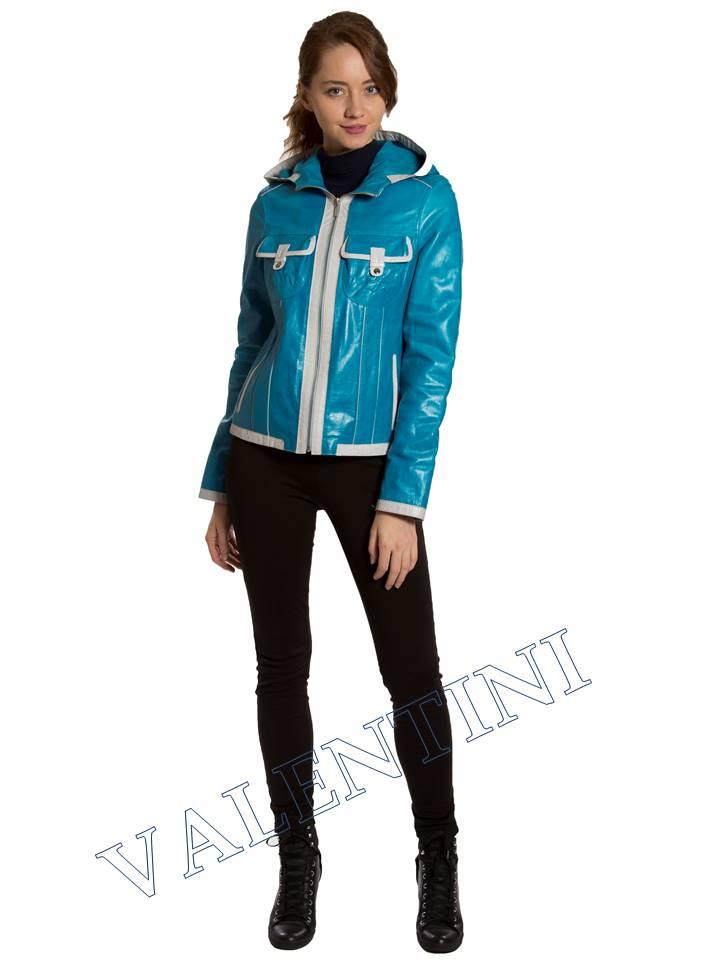 Кожаная куртка VALENTINI 2253-1 - 2