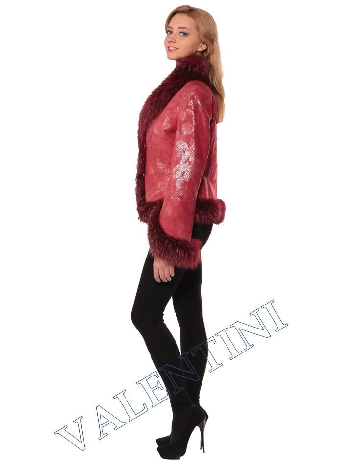 Женская кожаная куртка STELLA DORO 5354 - 3