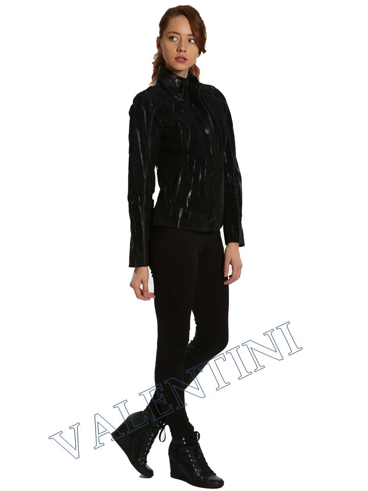 Замшевая куртка VALENTINI 2192 - 4