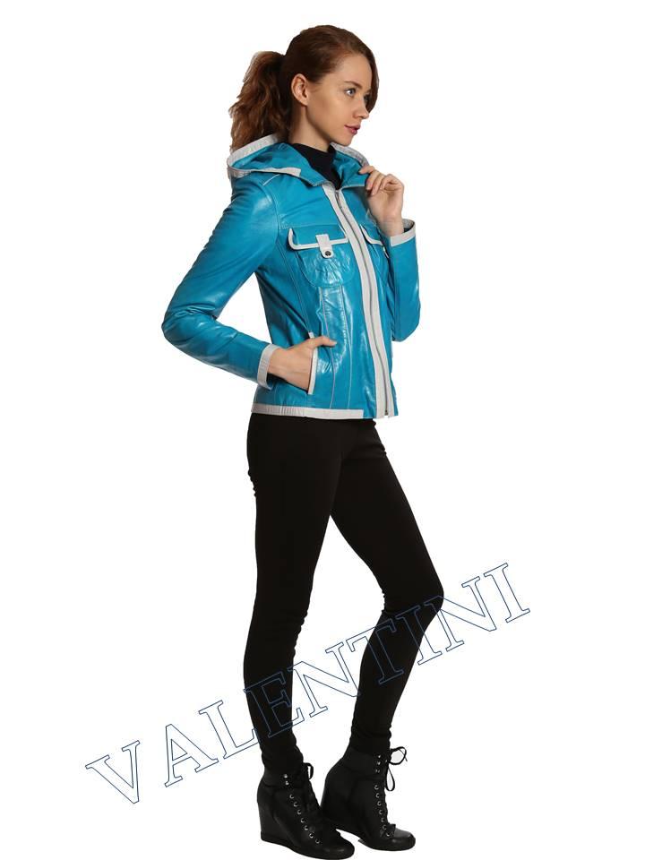 Кожаная куртка VALENTINI 2253-1 - 5