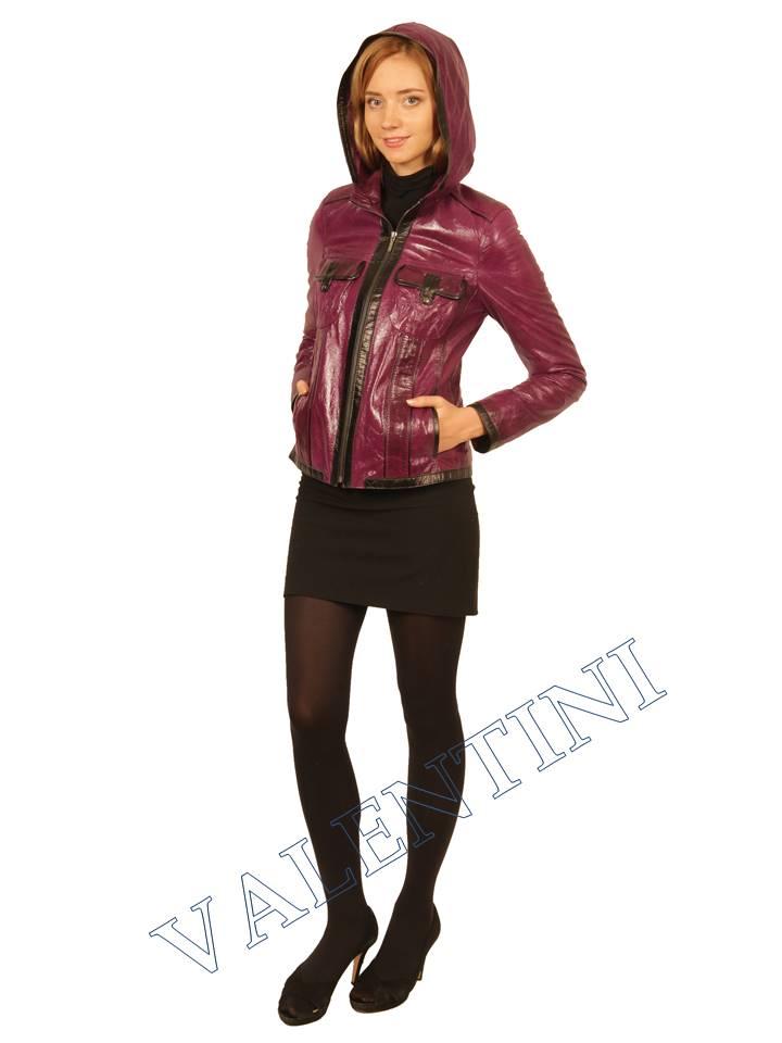 Куртка кожаная VALENTINI 2253 - 1