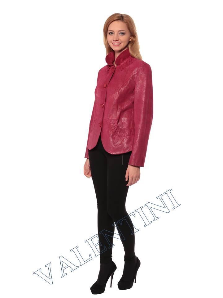 Женская кожаная куртка STELLA DORO 14093 - 3