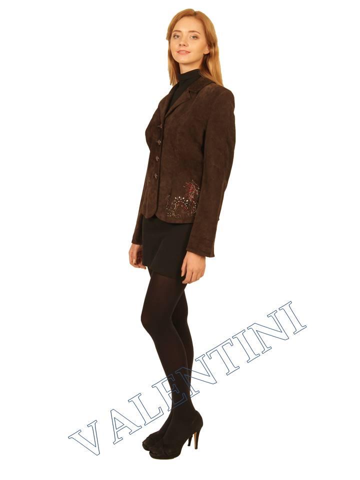 Пиджак кожаный STELLA DORO 5820 - 4