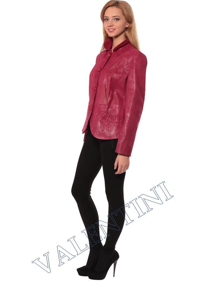 Женская кожаная куртка STELLA DORO 14093 - 5