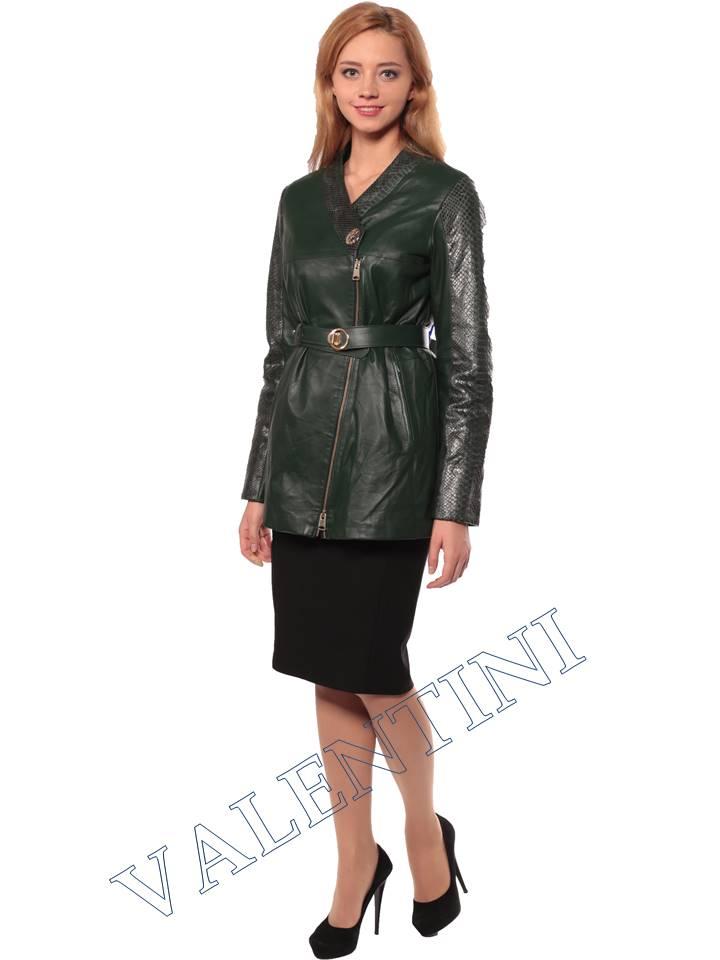 Женская кожаная куртка VALENTINI 2286 - 3