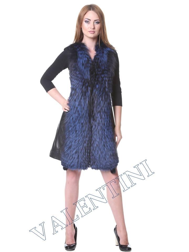 Кожаная куртка VALENTINI мод.2240 - 9