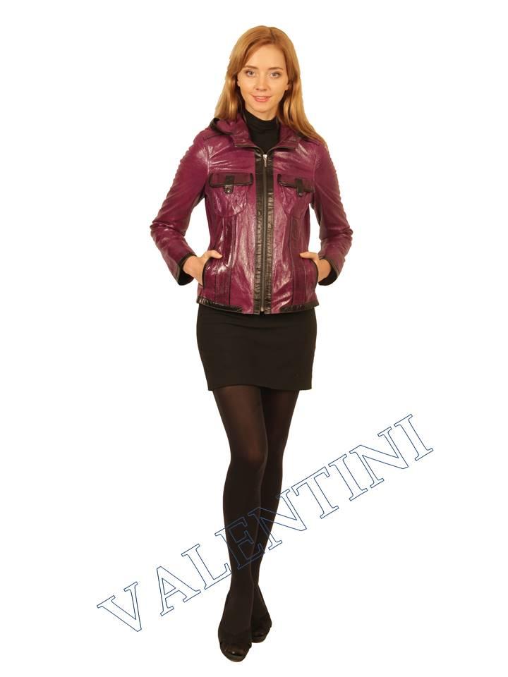 Куртка кожаная VALENTINI 2253 - 2