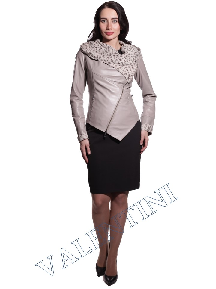 Куртка кожаная VALENTINI 016-105-1 - 1