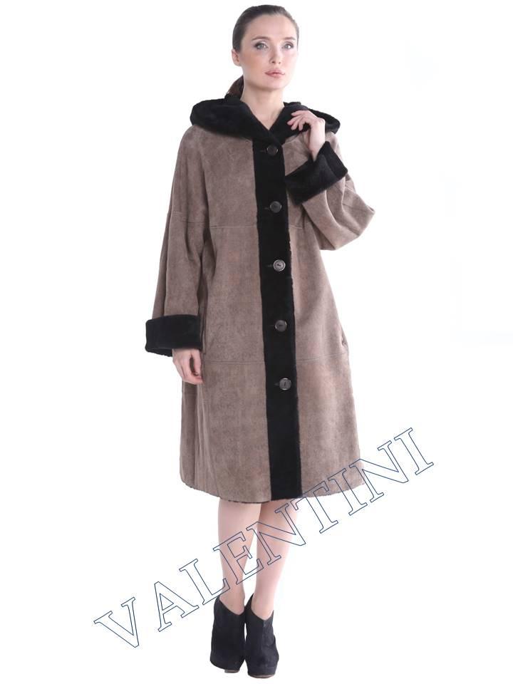 Женская дубленка VALENTINI мод.338-100-1