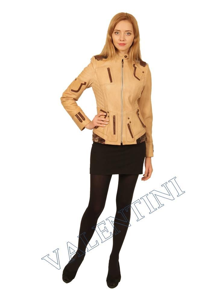 Куртка кожаная VALENTINI 2078 - 1