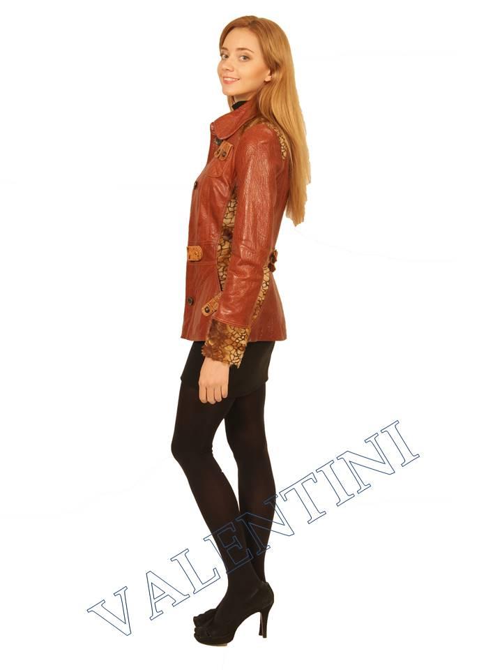 Куртка кожаная VALENTINI 2073 - 5