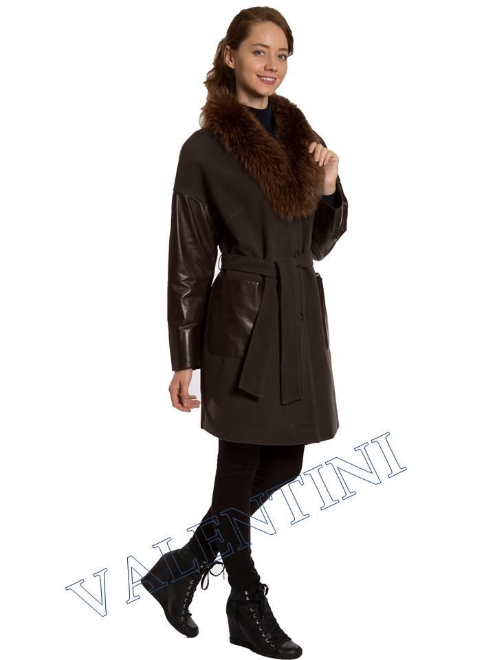 Кожаная куртка VALENTINI 017-124 - 5